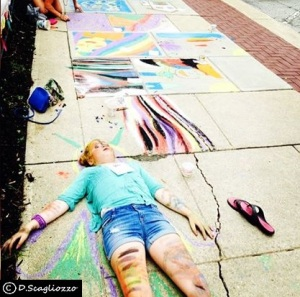 Oberlin, Ohio 2014 Chalk Walk