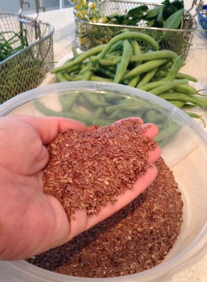 Unground Flax Seed