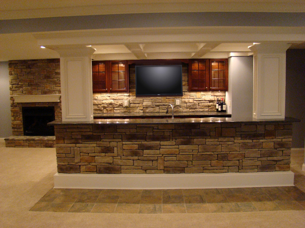 Ideas To Finish Basement partially finished basement ideas ~ kskn